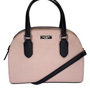 NWOT Kate Spade Pink Black Crossbody Satchel Bag